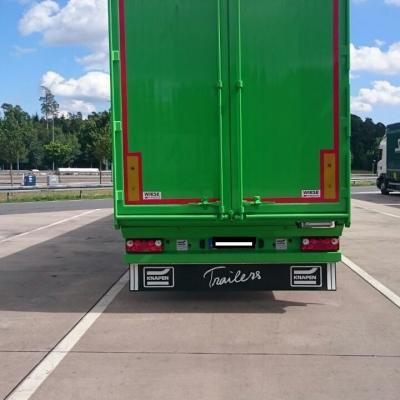 ID 15: Knapen-Cargo-Walk 3-Achs Sattelanhänger